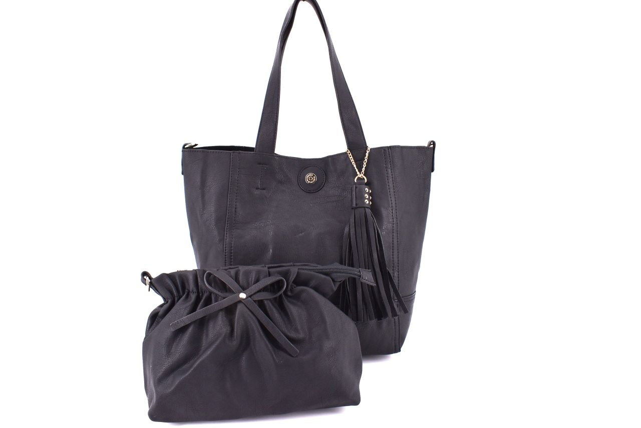 Dámská kabelka černá 26011