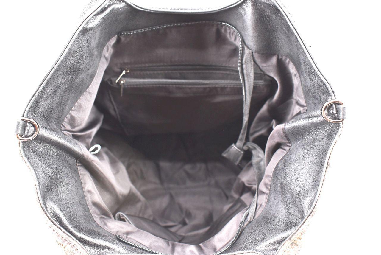 Dámská kabelka zlatá 33719