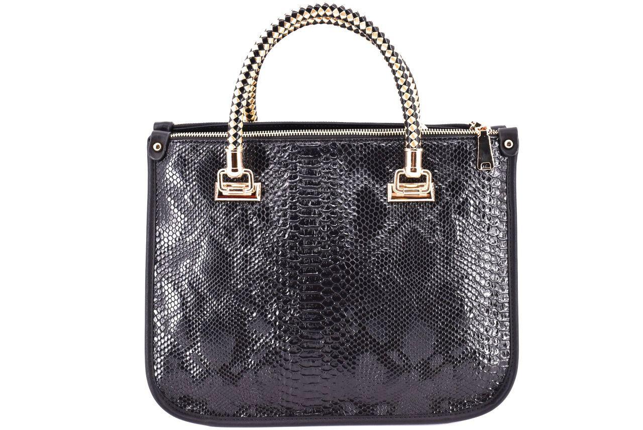 Dámská kabelka černá 33656
