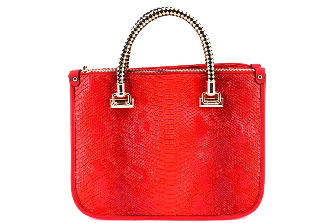 Dámská kabelka červená 33656