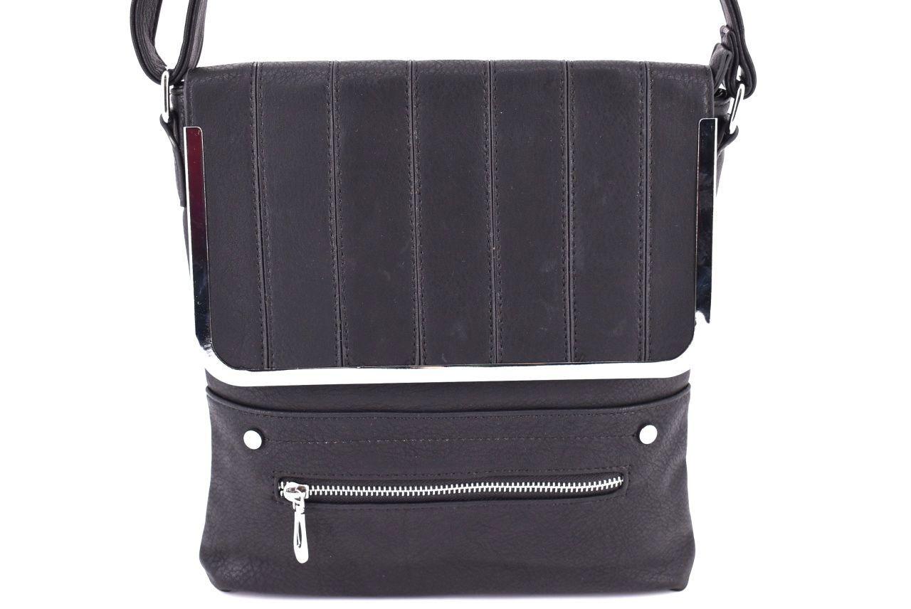 Dámská kabelka crossbody - černá 32549