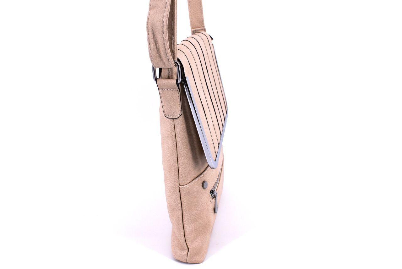 Dámská kabelka crossbody - žlutá 32549