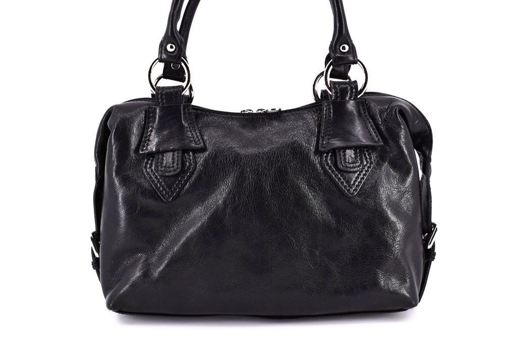Dámská kožená kabelka Arteddy - černá 10791