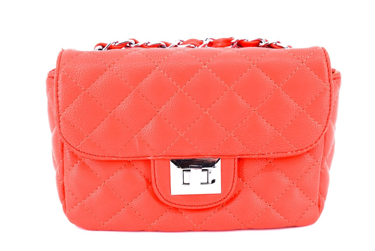 Dámská kabelka crossbody - červená 30259
