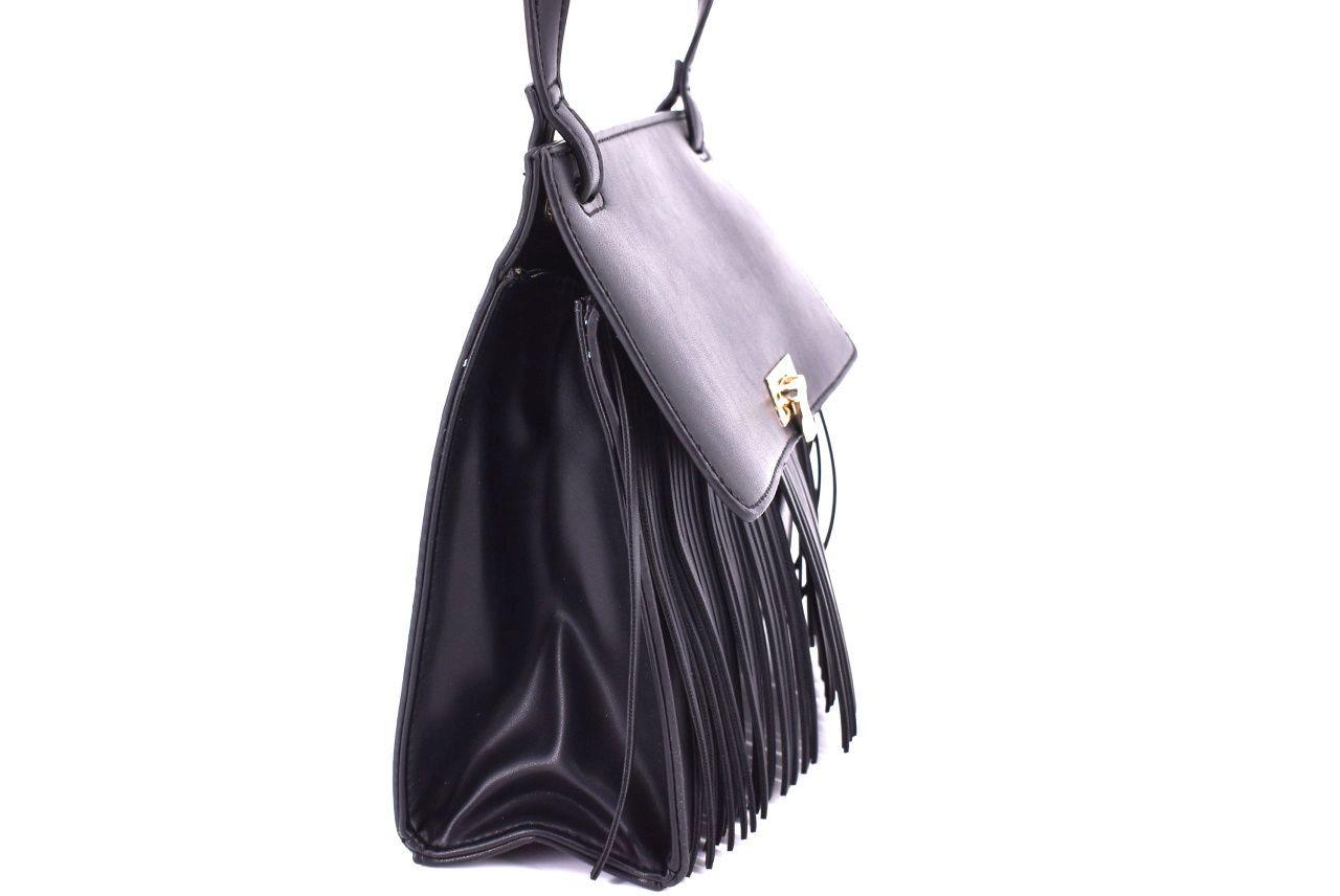 Dámská kabelka crossbody - černá 34761