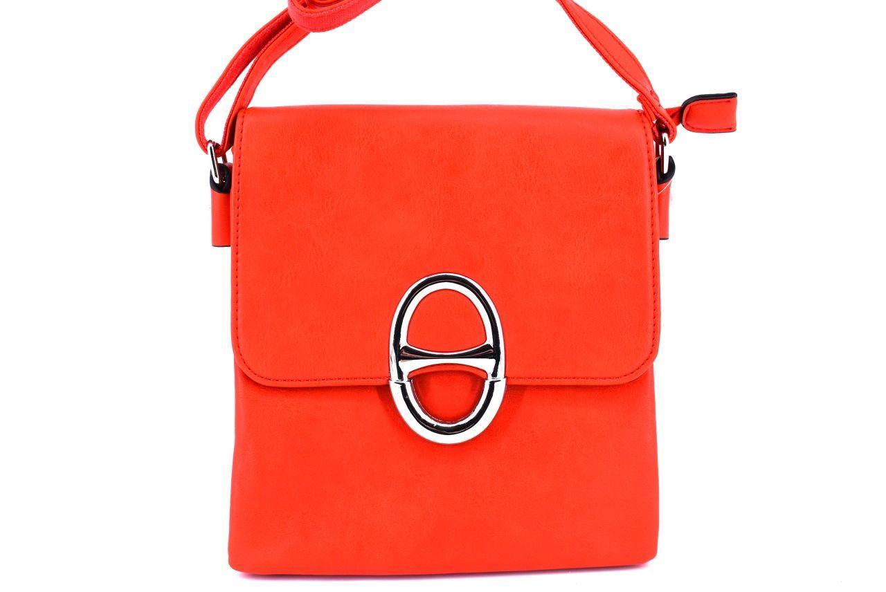 Dámská kabelka crossbody - červená 31153