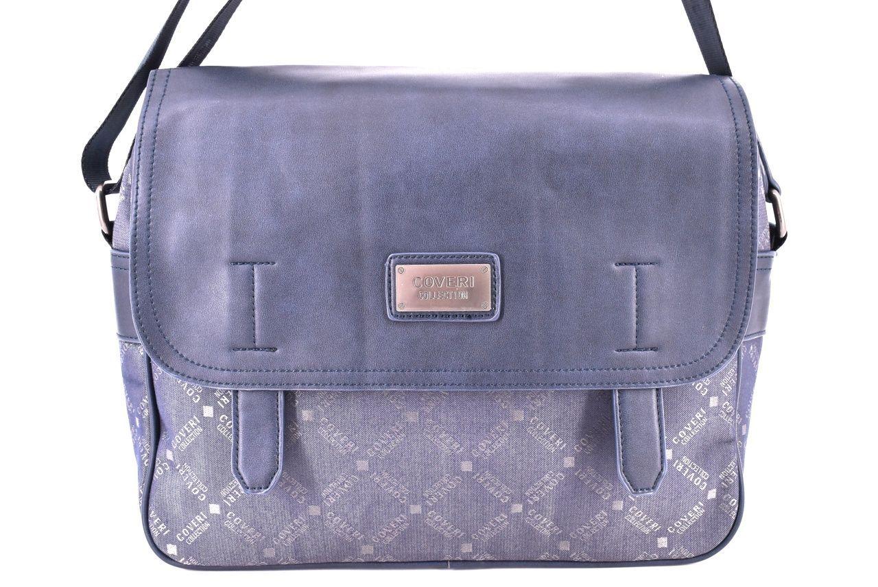 Pánská taška Coveri crossbody - modrá
