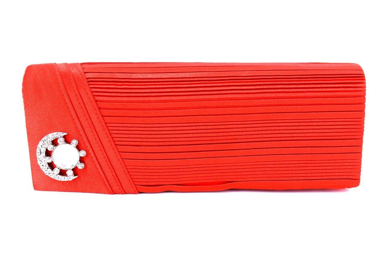 Dámská kabelka psaníčko - červená 11299