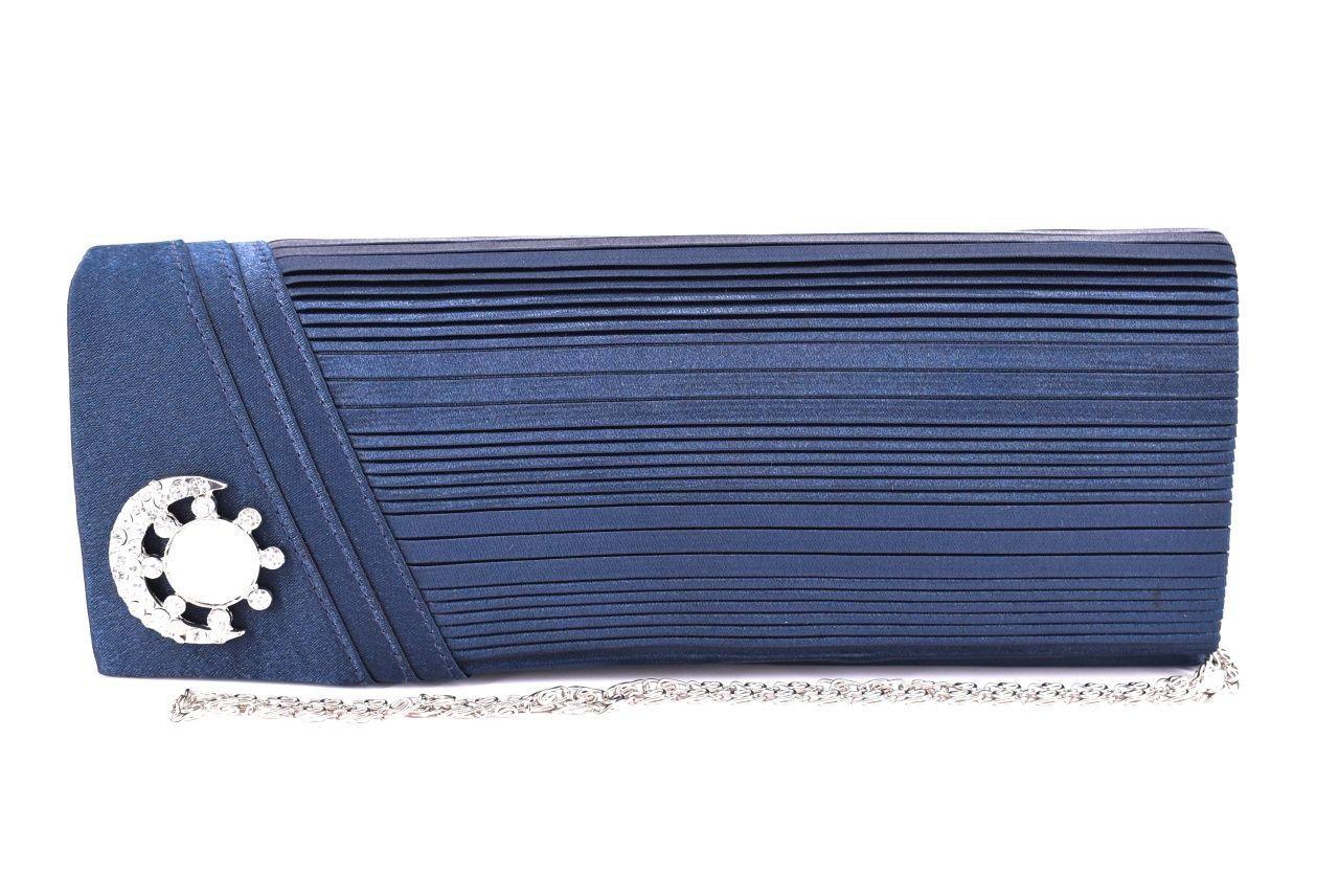 Dámská kabelka psaníčko - modrá 11299