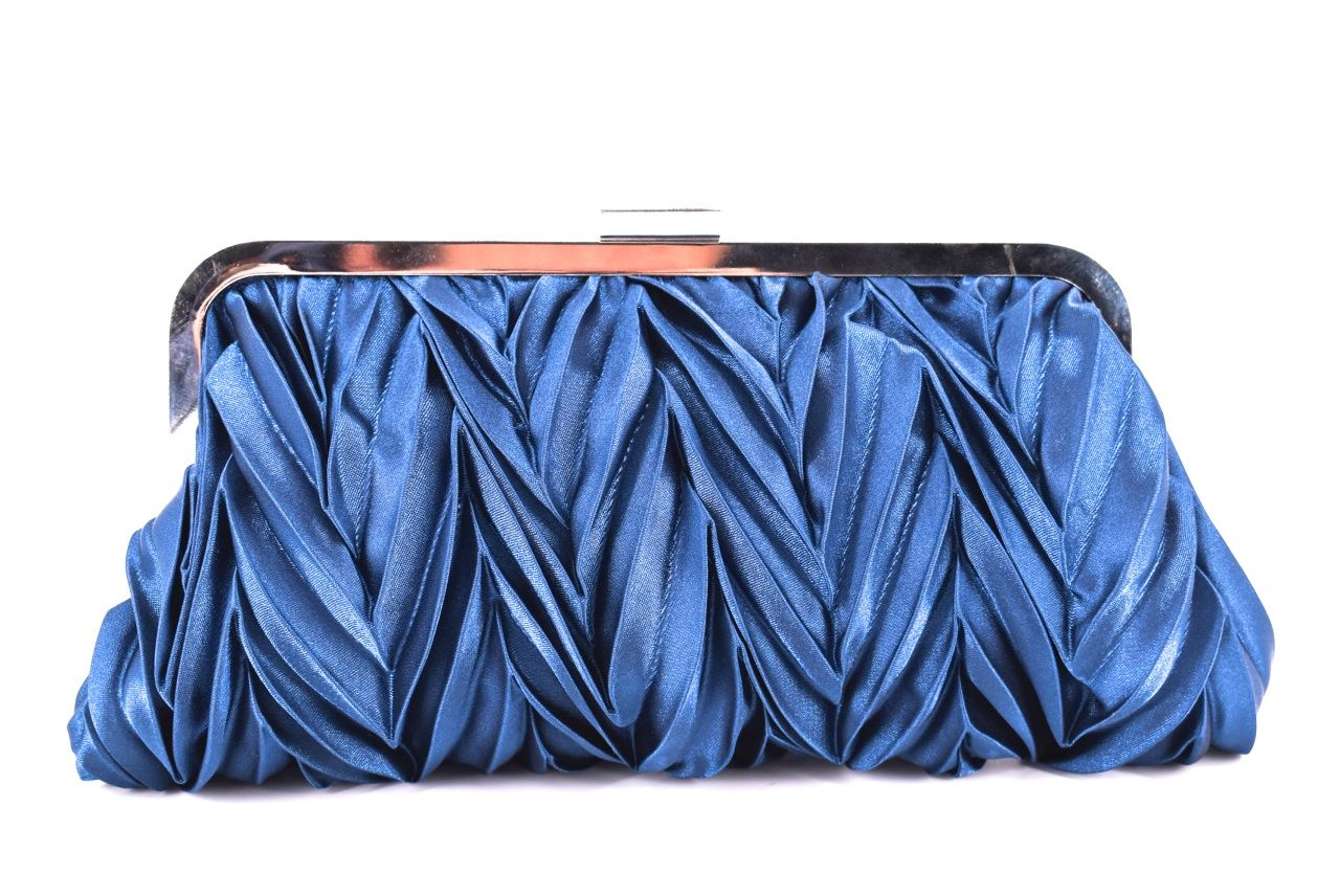 Dámská kabelka psaníčko - modrá 22493