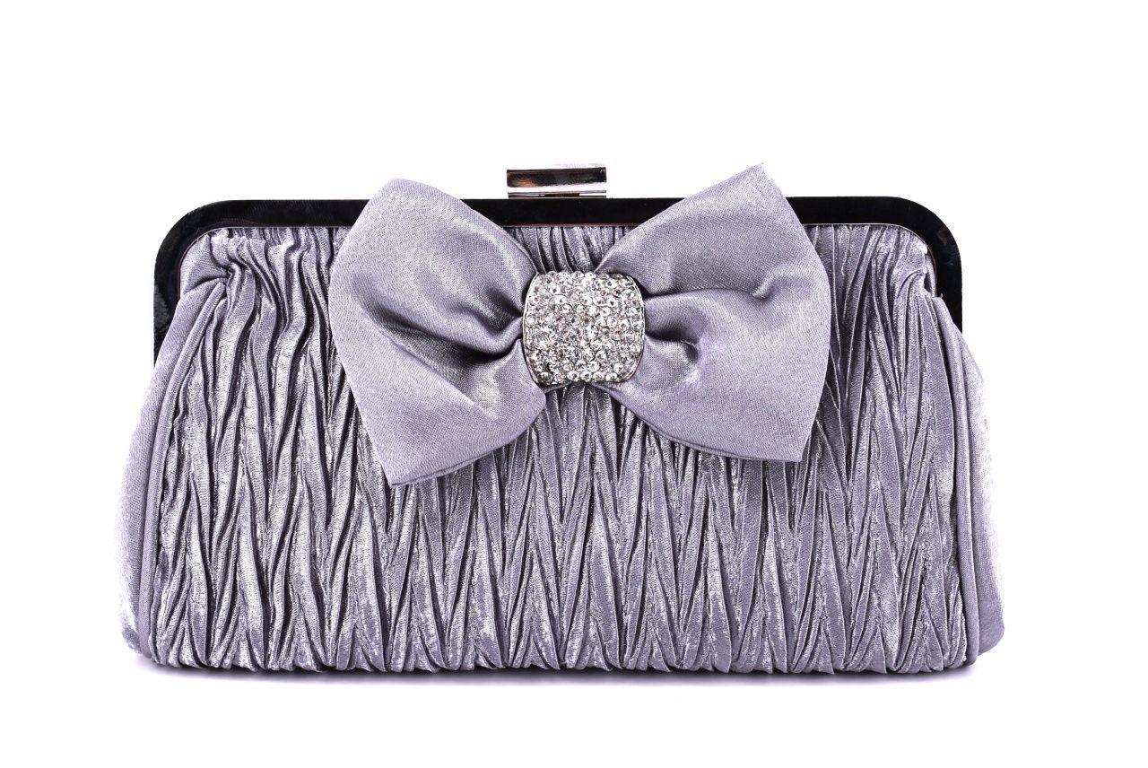 Dámská kabelka psaníčko - šedá 24533