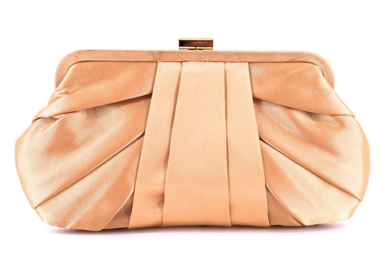 Dámská kabelka psaníčko - zlatá 24556