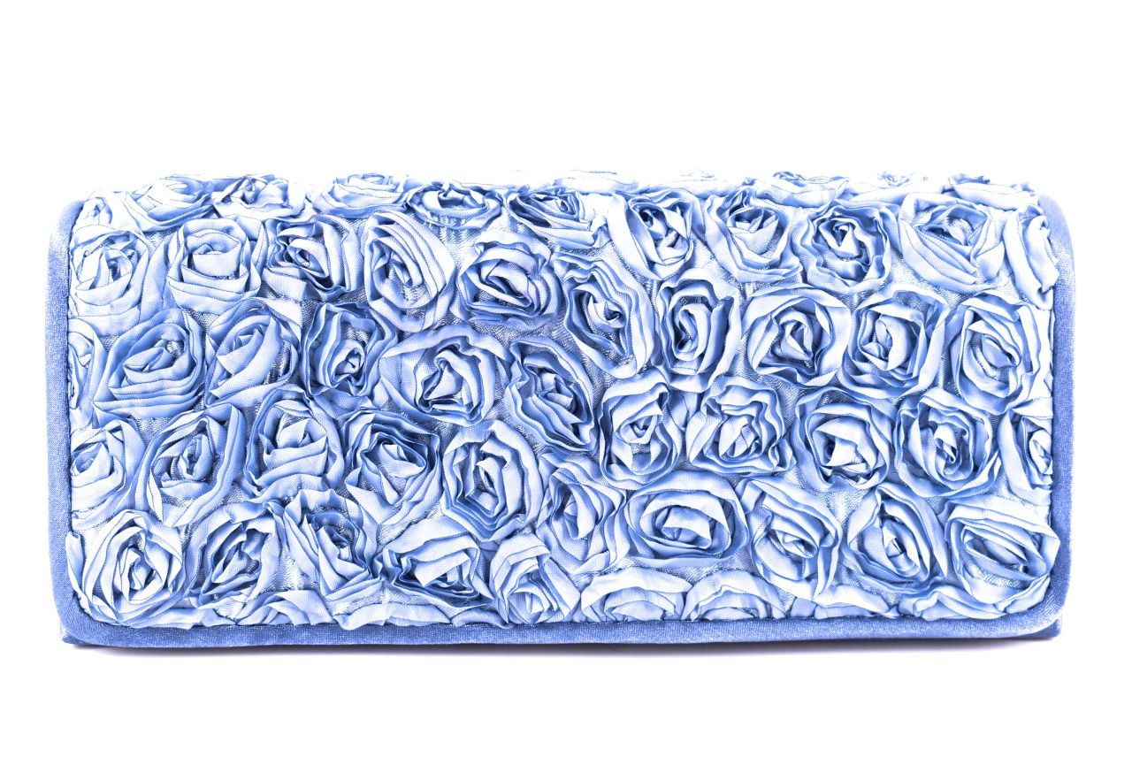 Dámská kabelka psaníčko - modrá 21021