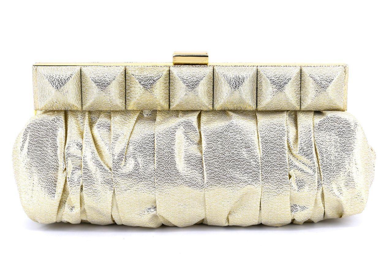 Dámská kabelka psaníčko - zlatá 21537