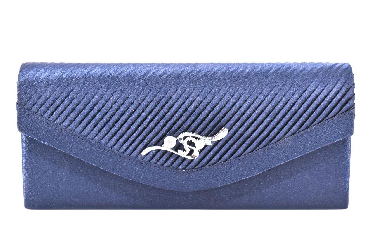 Dámská kabelka psaníčko - modrá 91011