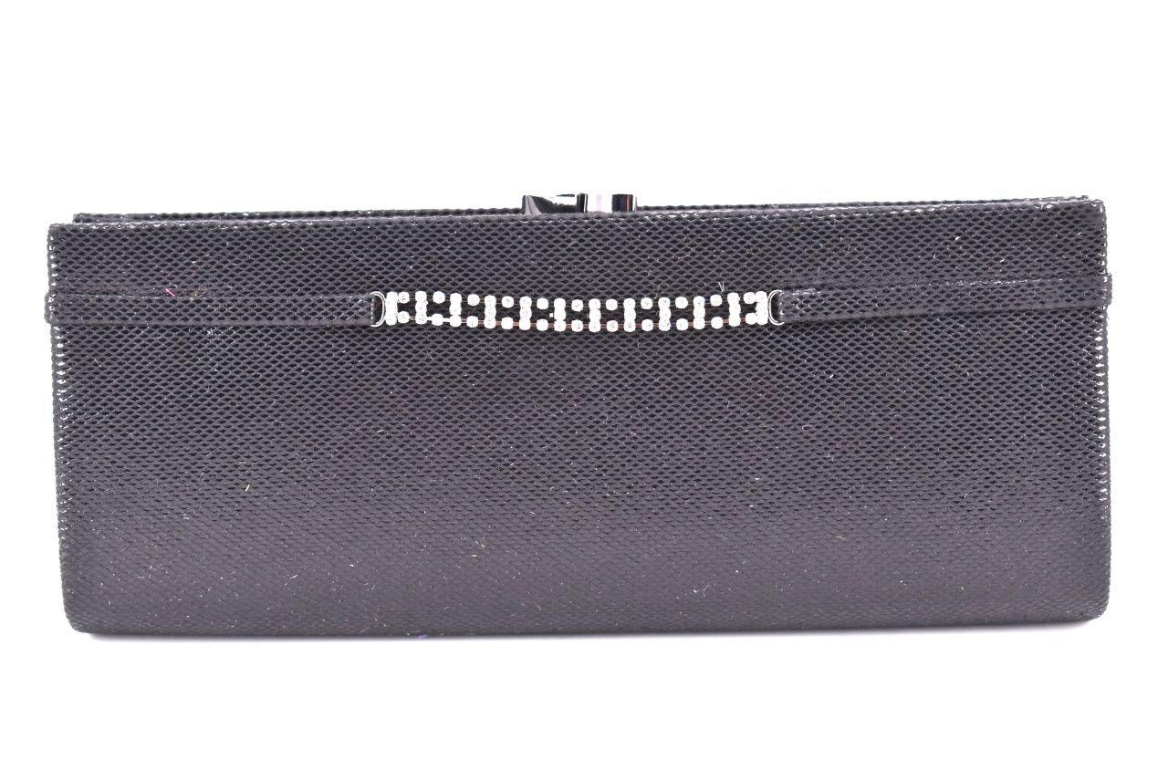 Dámská kabelka psaníčko - černá 10511