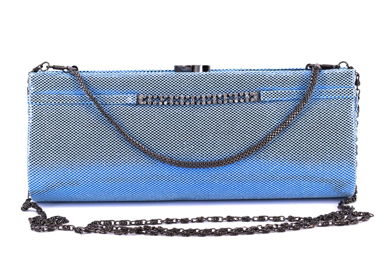 Dámská kabelka psaníčko - modrá 10511