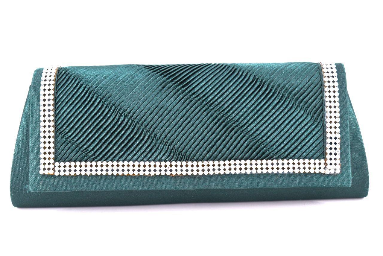Dámská kabelka psaníčko - zelená 24530