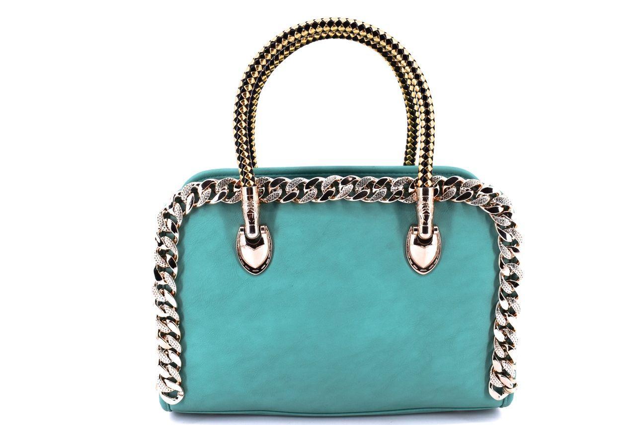 Dámská kabelka modrá 27876