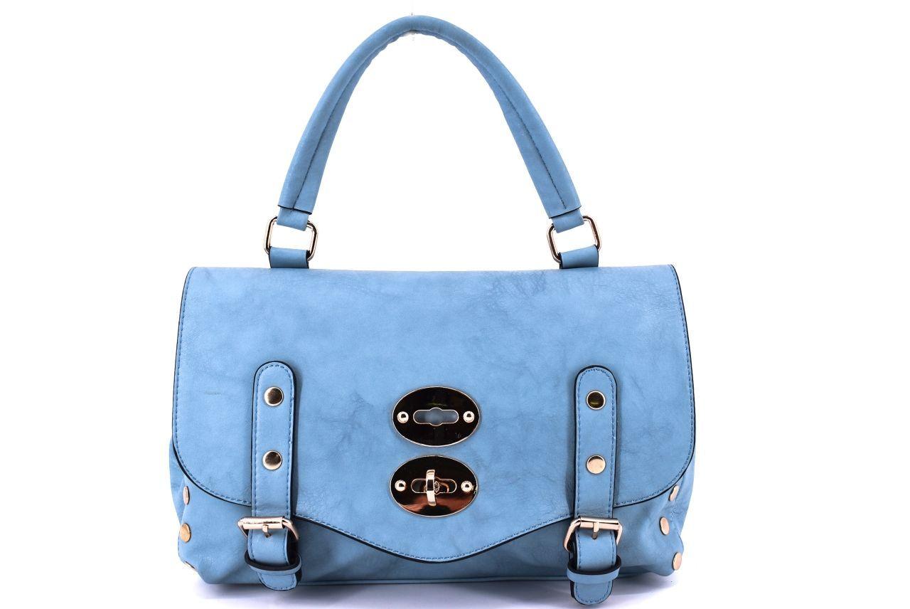 Dámská kabelka modrá 27281