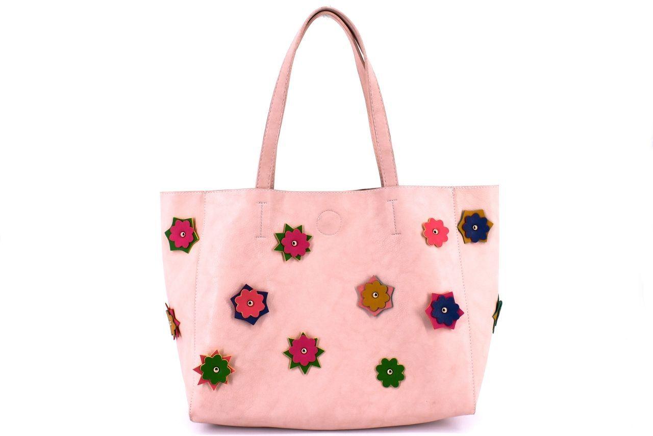 Dámská kabelka růžová/pudrová 27257