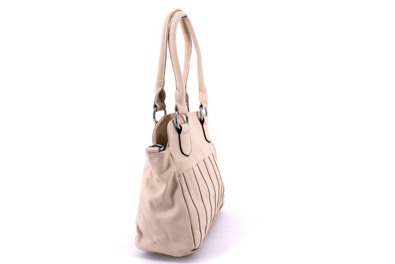 Dámská kabelka béžová 27016