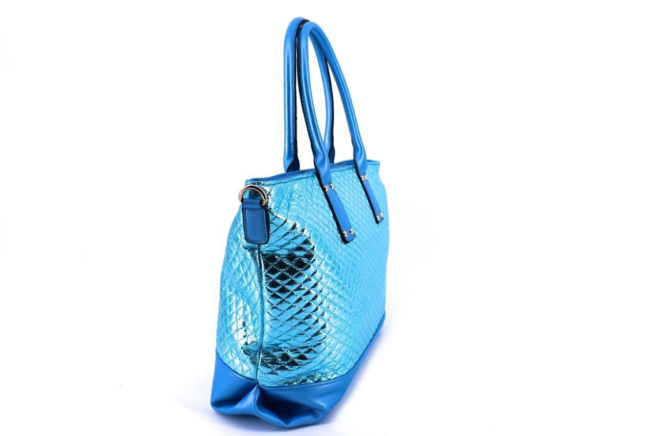 Dámská kabelka modrá 34710