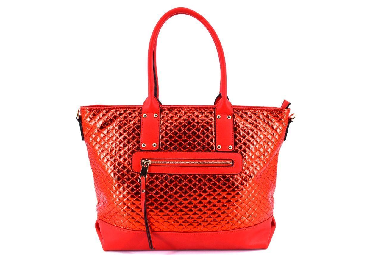 Dámská kabelka červená 34710