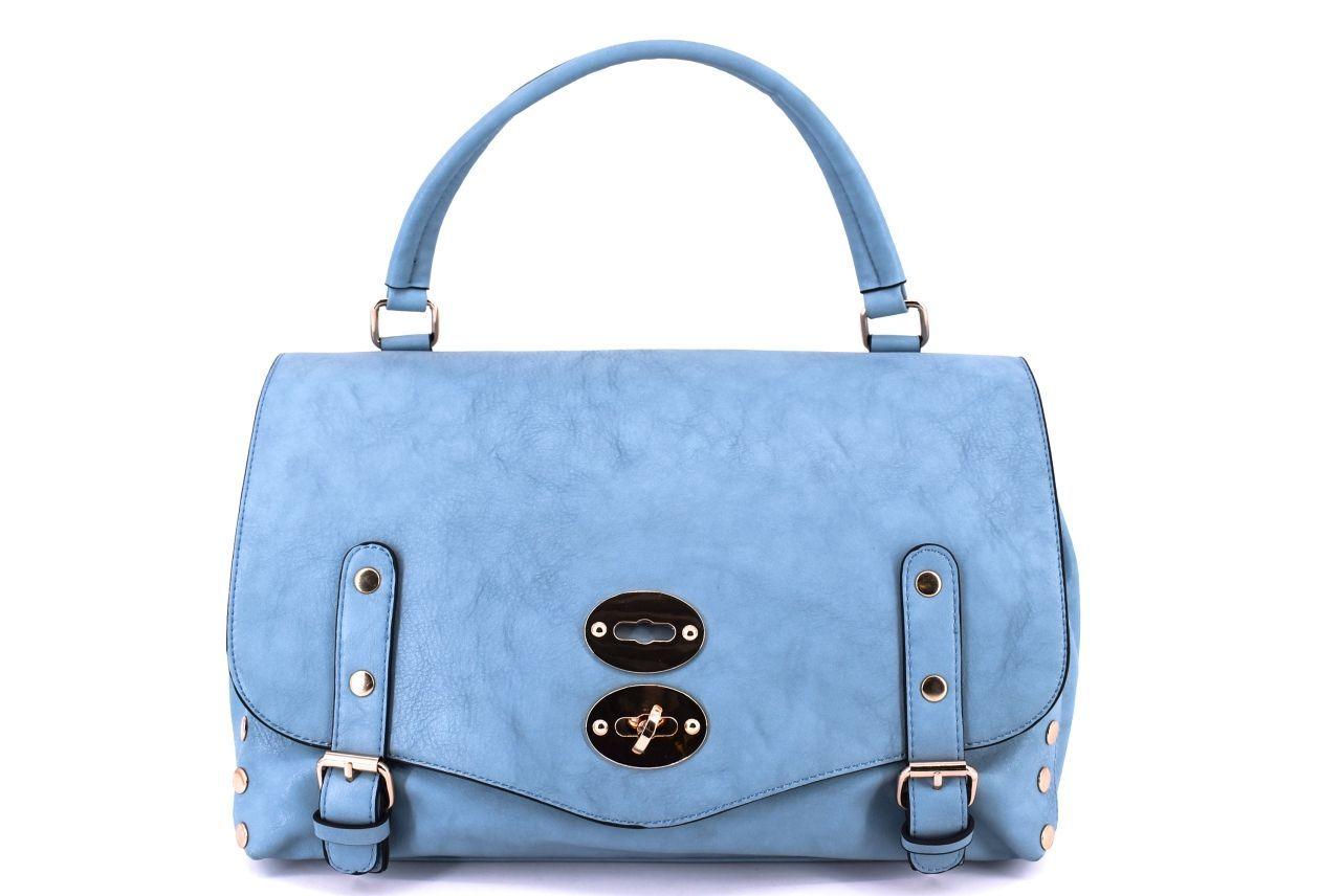Dámská kabelka modrá 27280