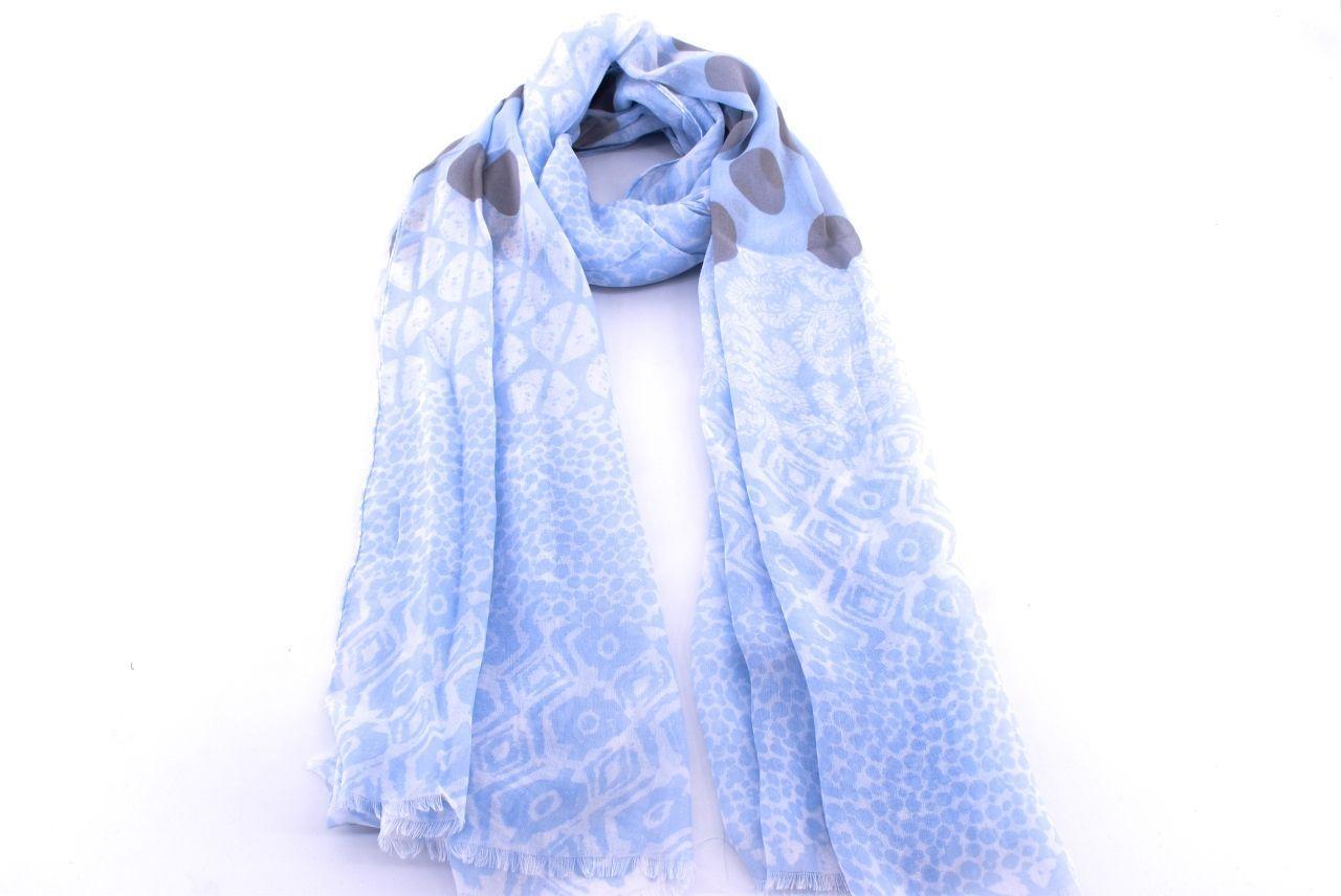 Dámský puntíkovaný šátek Arteddy  -béžová