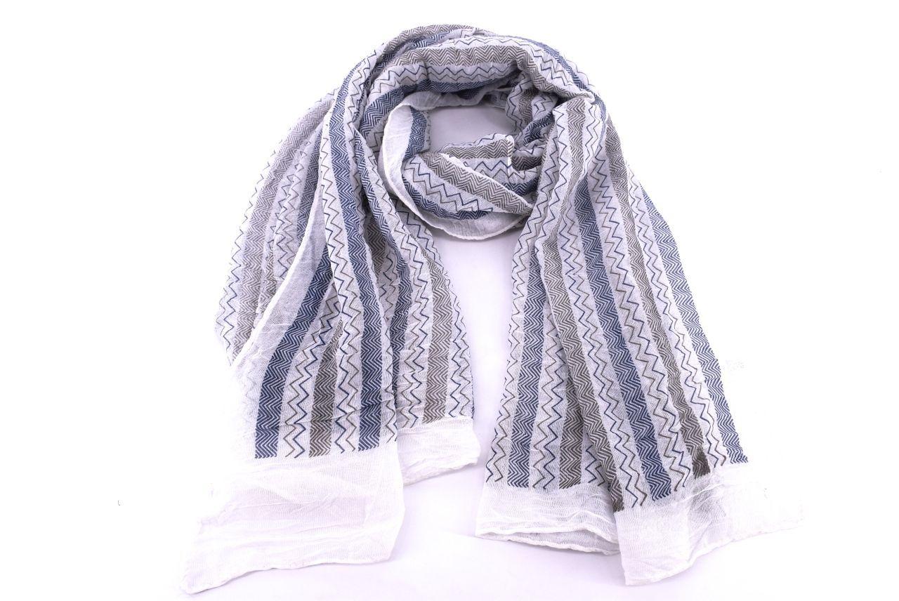 Dámský pruhovaný šátek Arteddy - černá