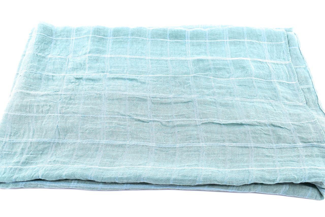 Dámský šátek s potiskem čtverců Arteddy - zelená
