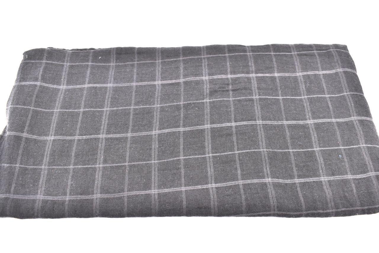 Dámský šátek s potiskem čtverců Arteddy - černá