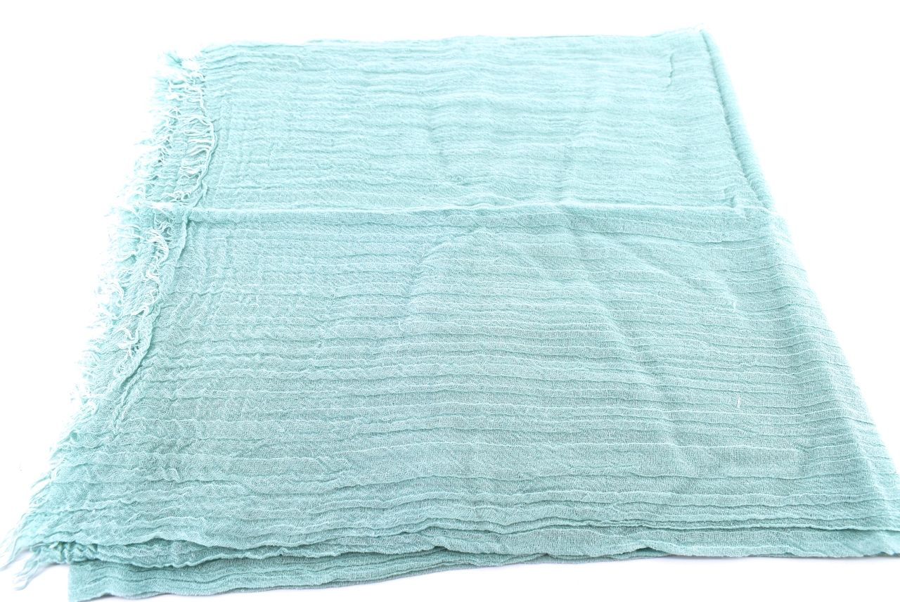 Dámský  jednobarevný šátek Arteddy - zelená