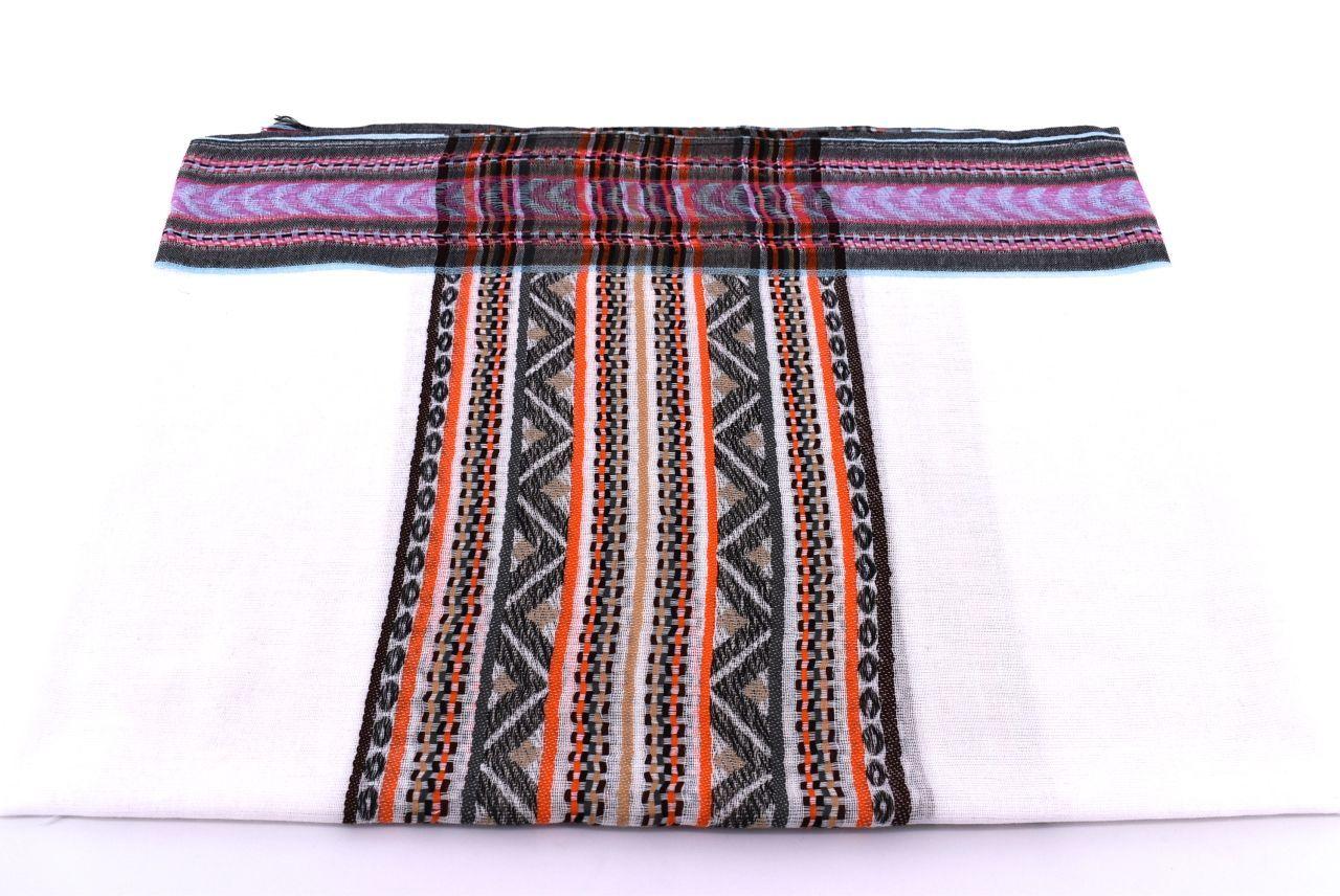 Dámský hedvábný šátek Arteddy - oranžová
