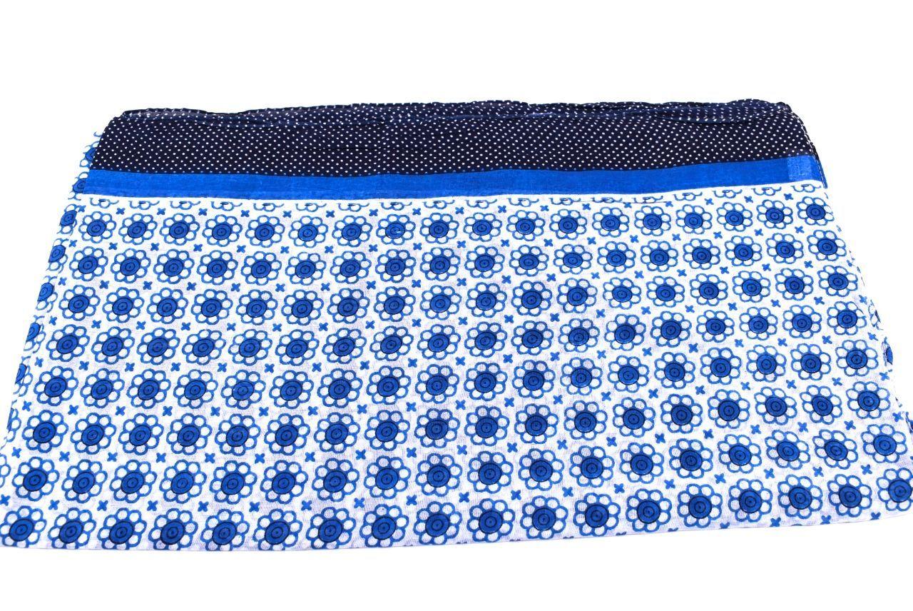 Dámský šátek s potiskem Arteddy - modrá