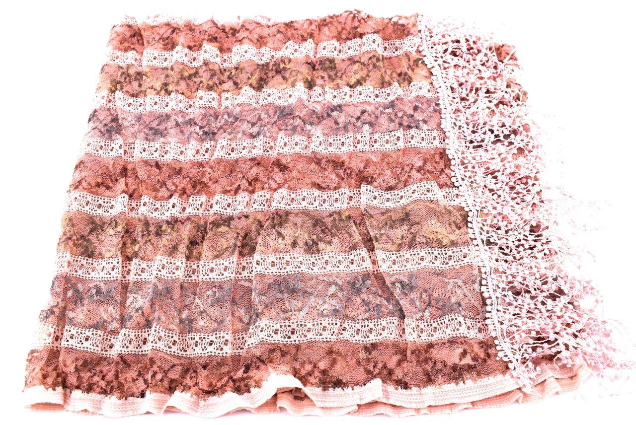 Dámský šátek Arteddy - růžová/pudrová