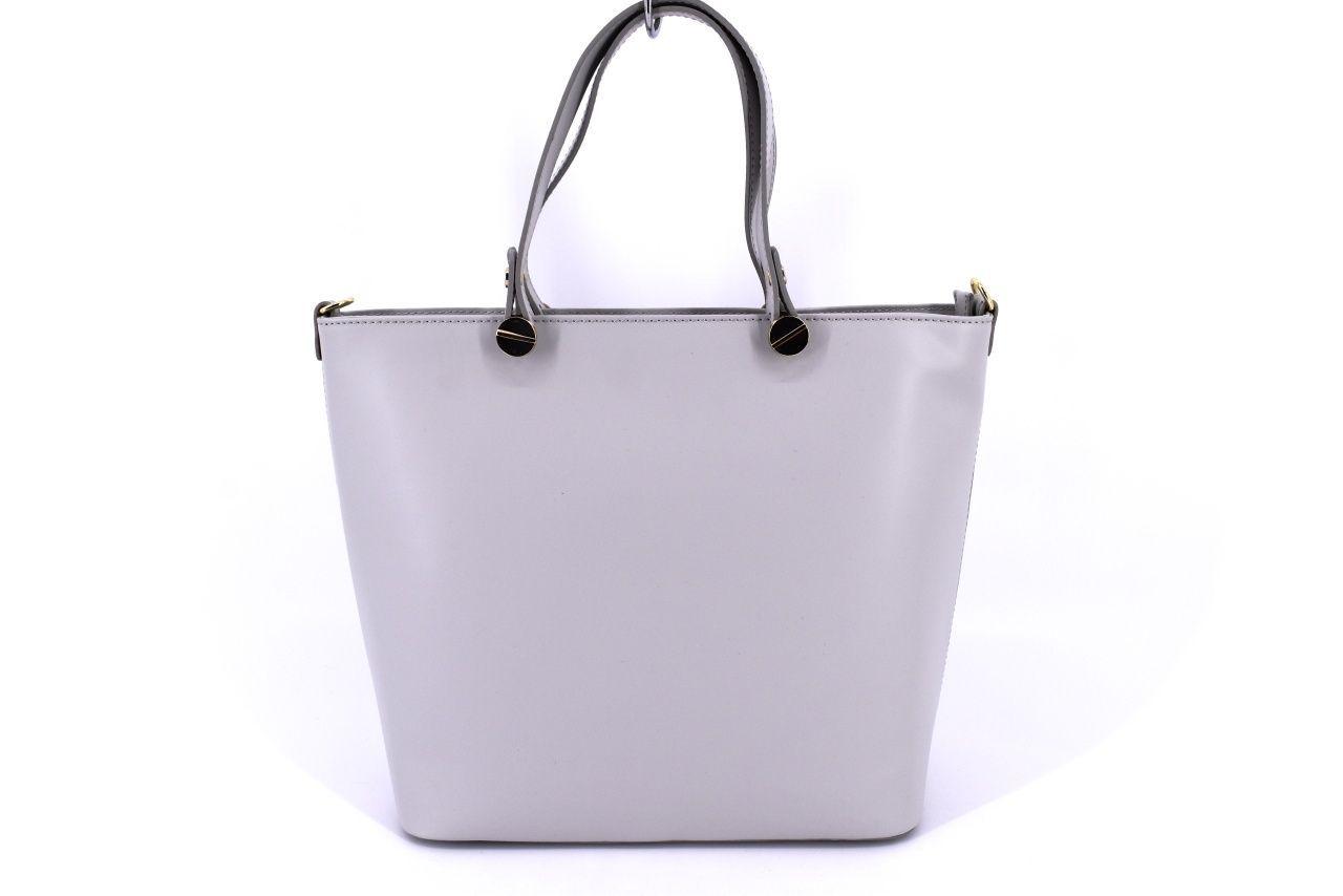Dámská kožená kabelka Arteddy - šedá 32426