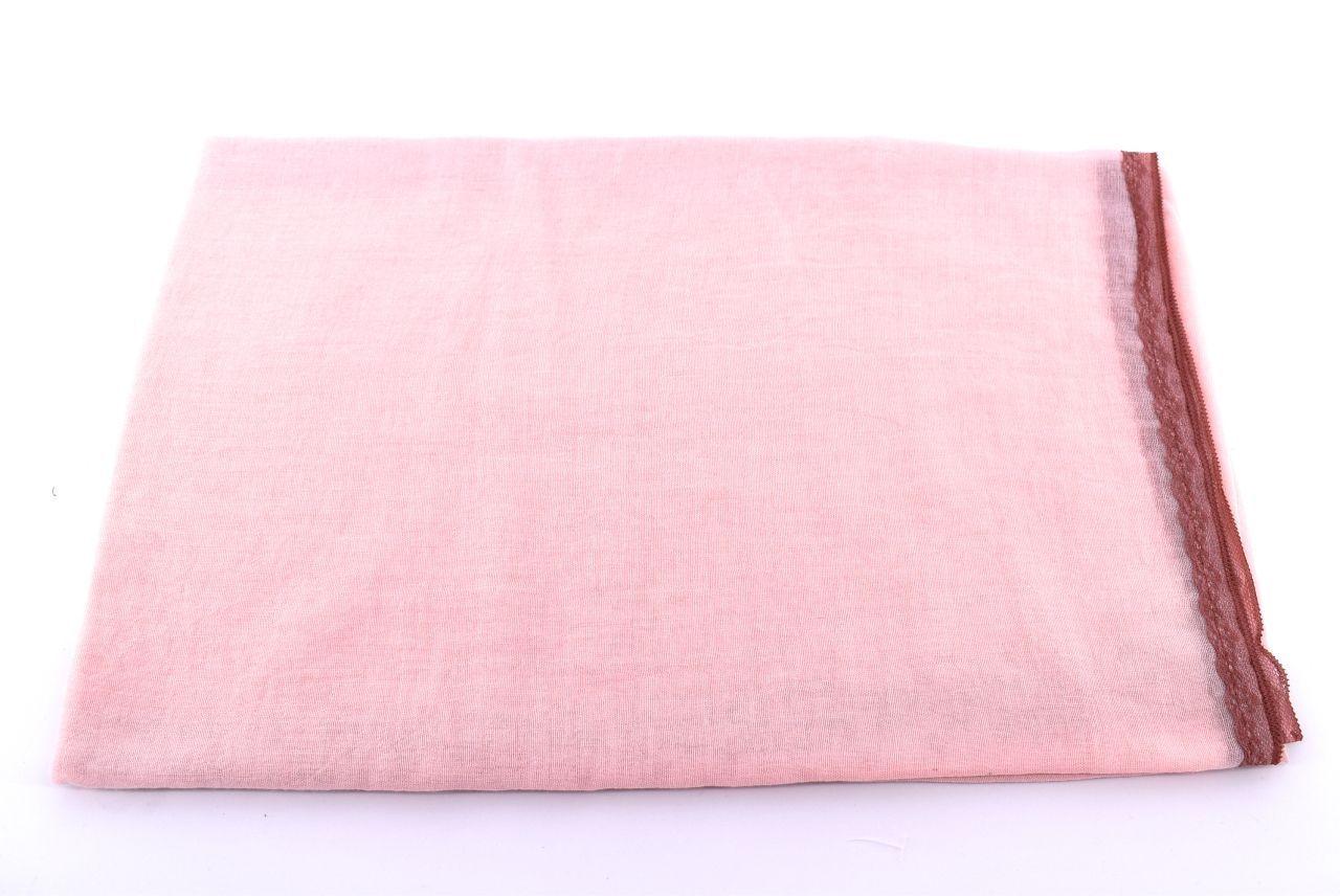 Dámská  jednobarevná šála Arteddy  - růžová/pudrová