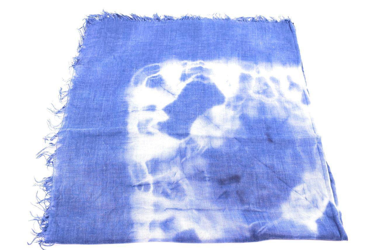 Dámský šátek s batikovaným vzorem Arteddy - modrá