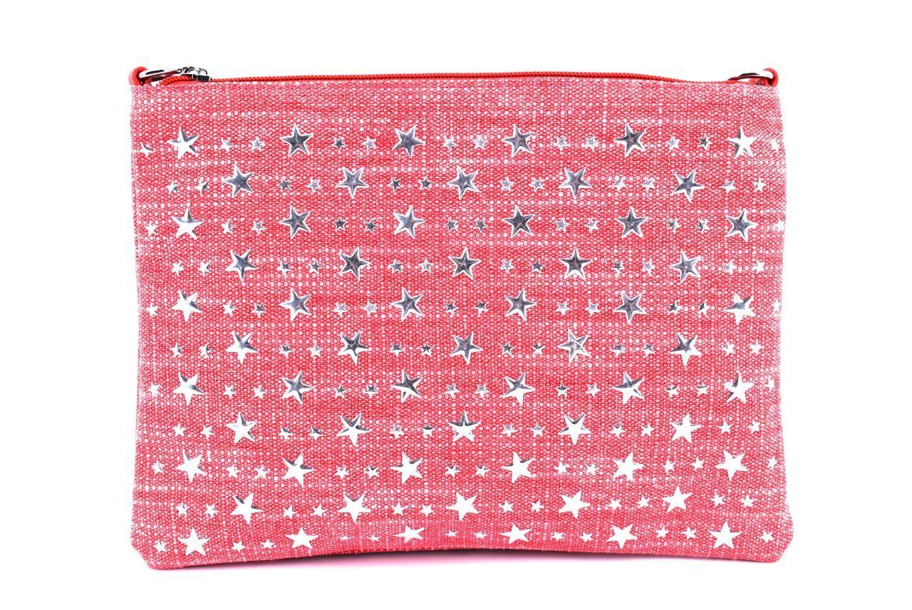 Dámská kabelka psaníčko - červená 36024