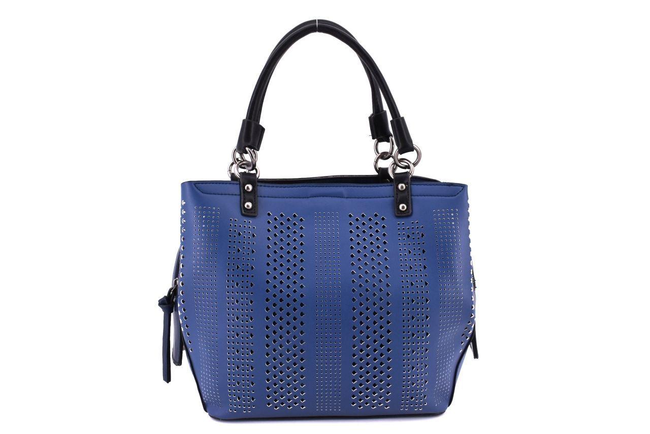 Dámská kabelka modrá 36829