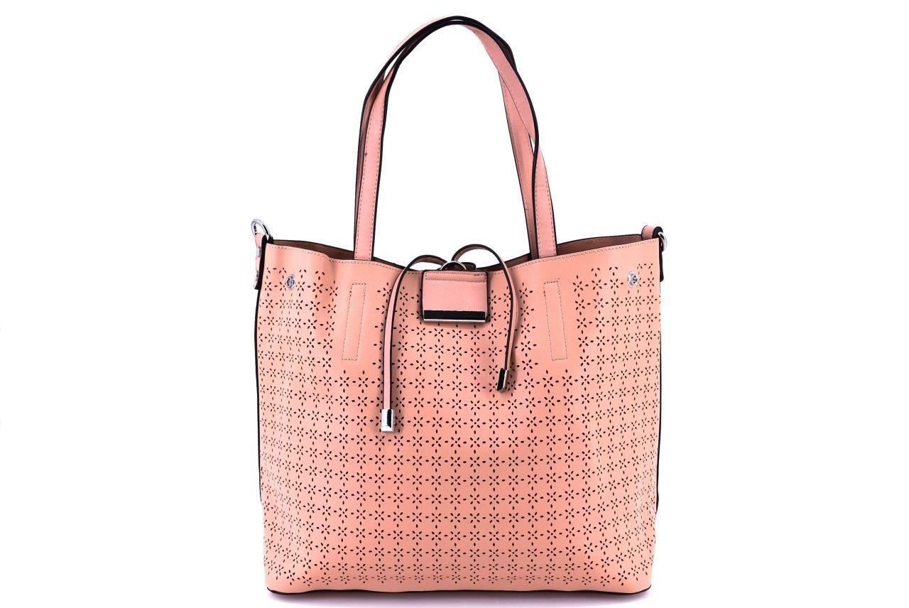 Dámská kabelka světle růžová 36846