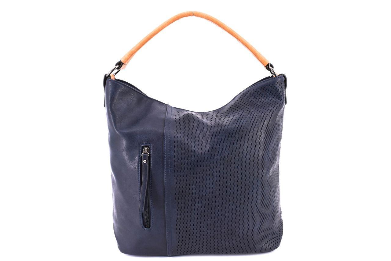 Dámská kabelka tmavě modrá 36837
