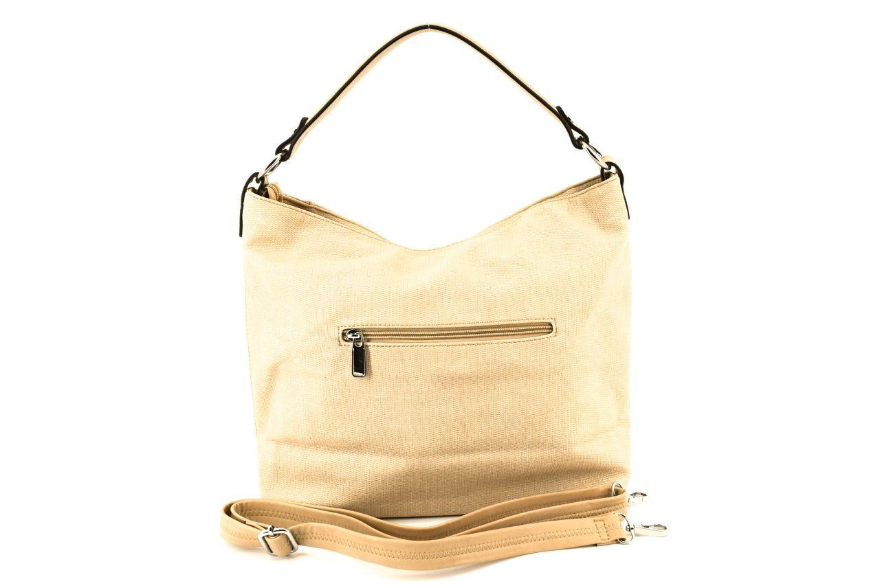 Dámská kabelka krémová 36838