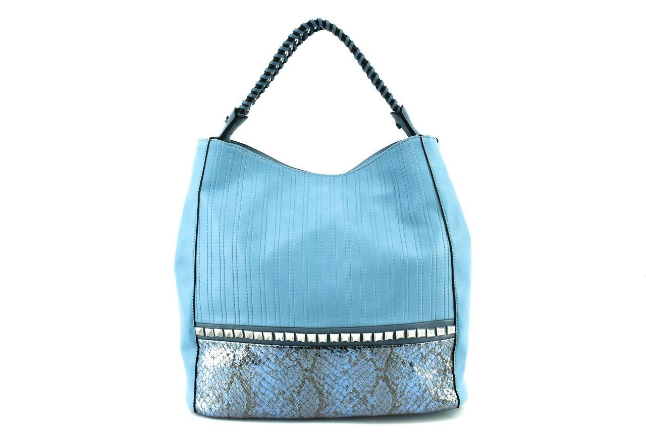 Dámská kabelka modrá 36095