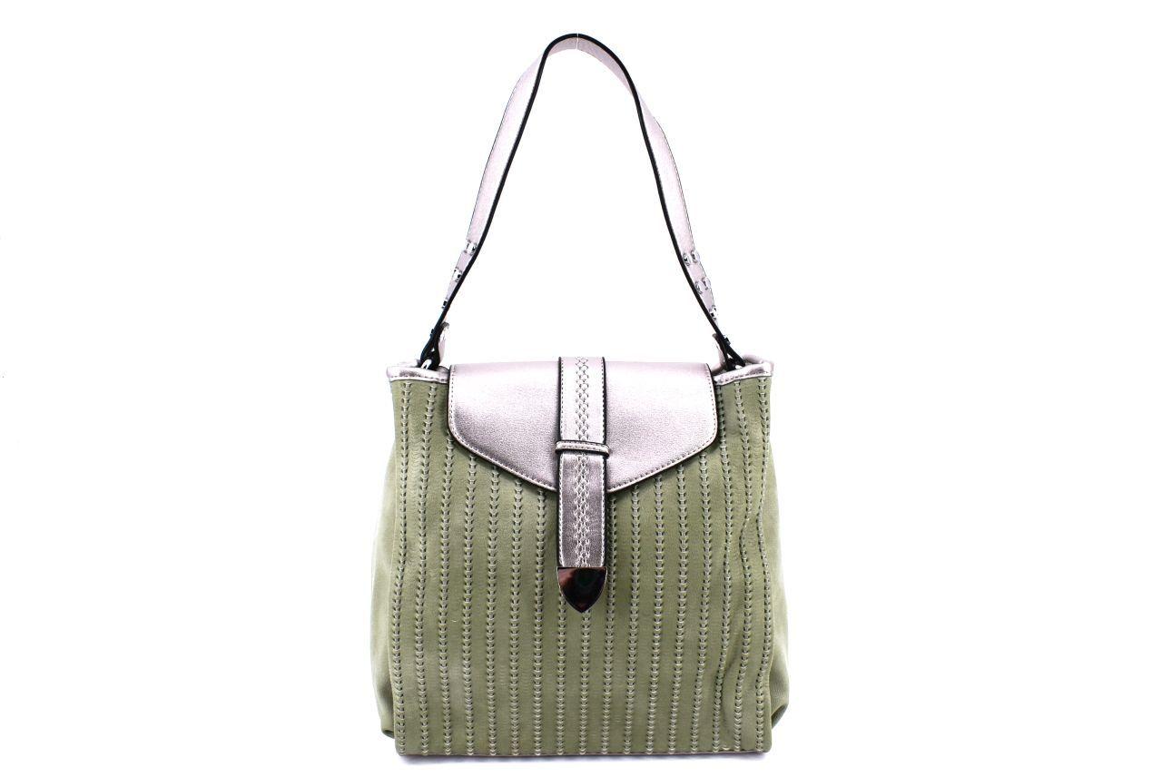 Dámská kabelka zelená 37045