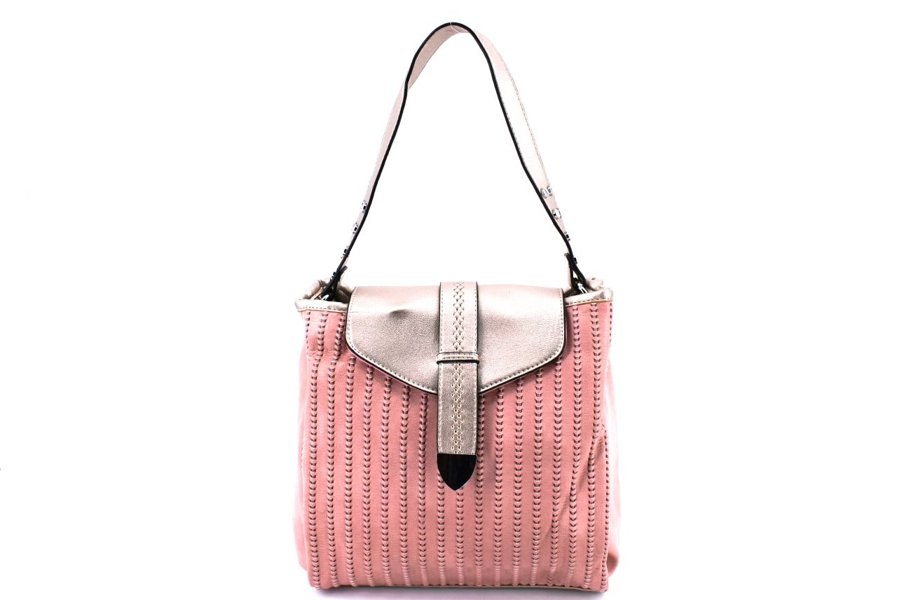 Dámská kabelka růžová 37045