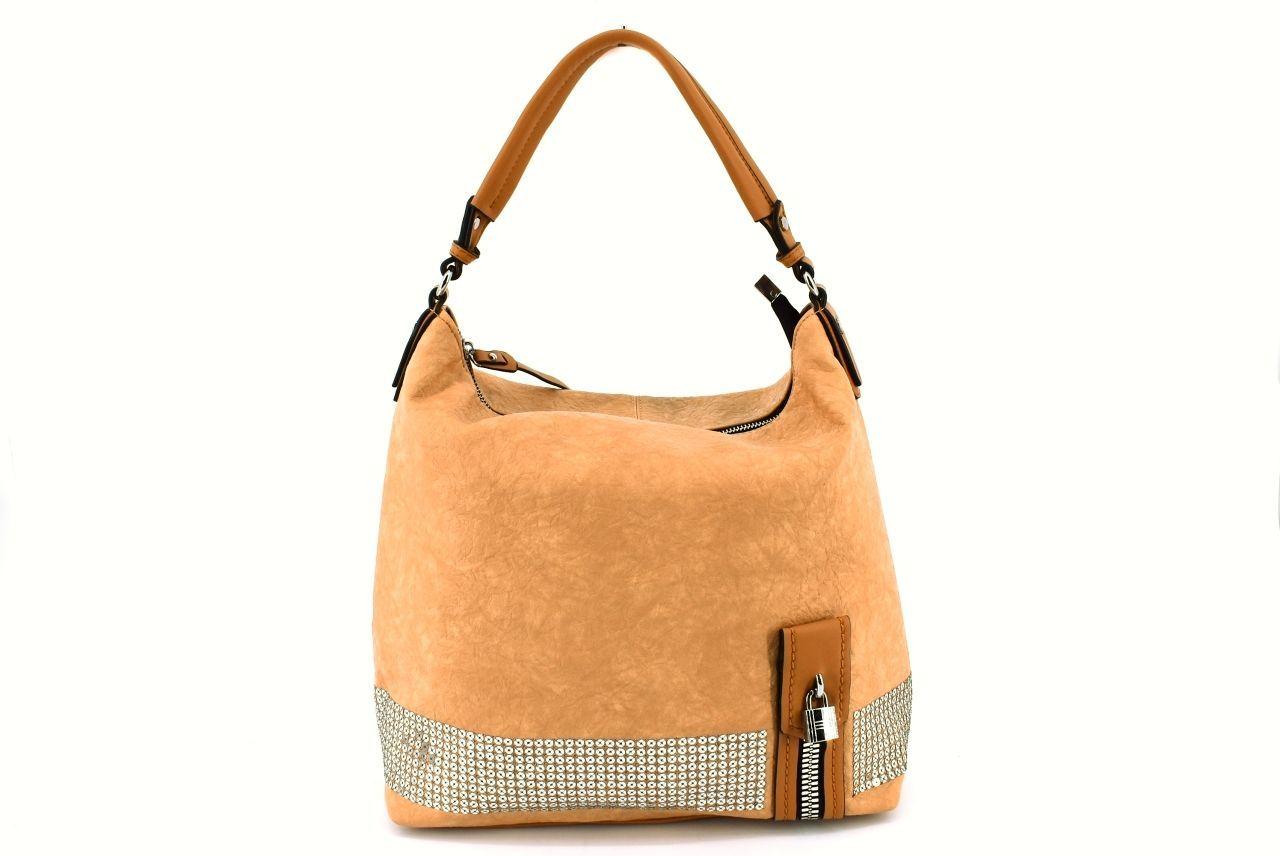 Dámská kabelka - béžová 36862