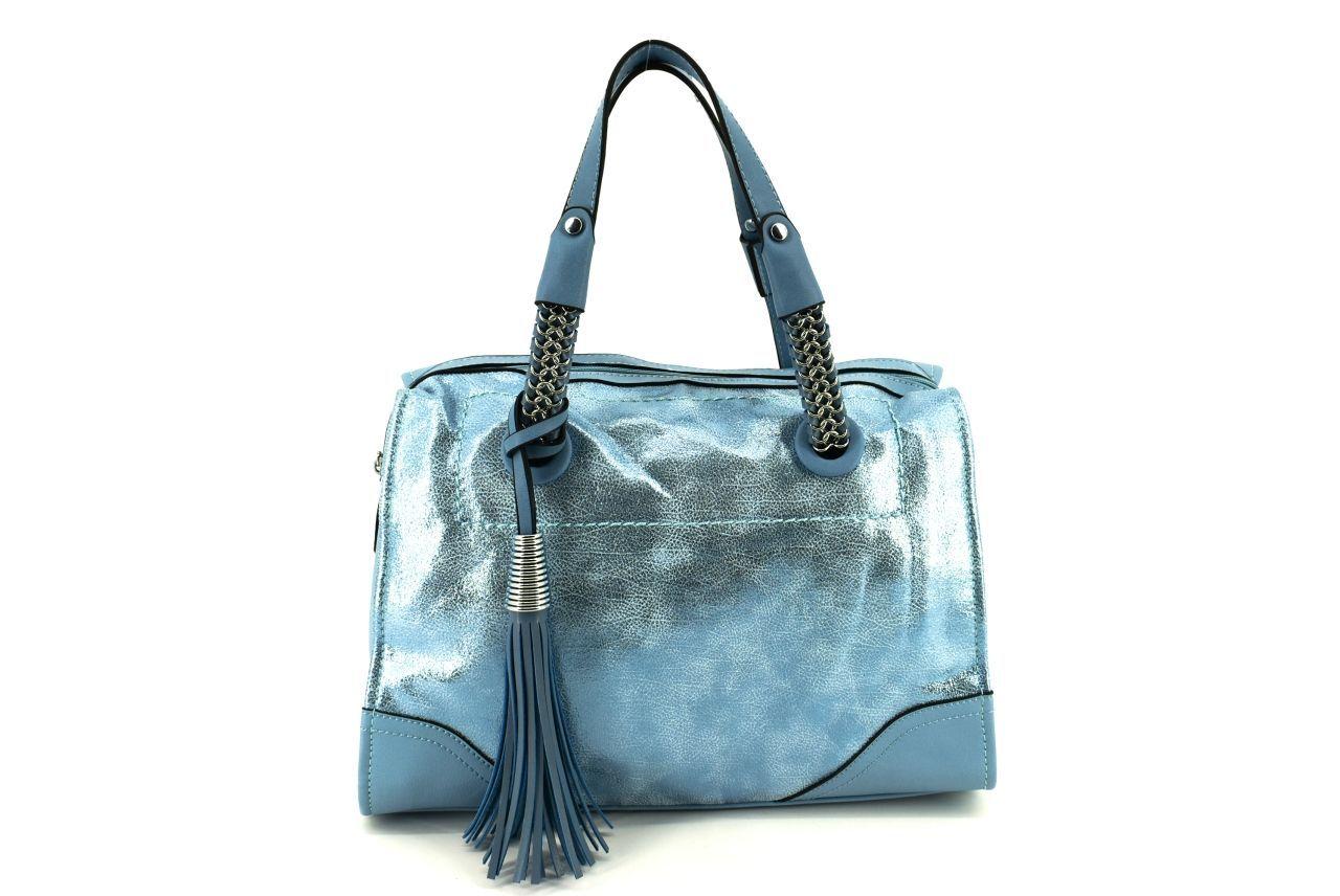 Dámská kabelka - modrá 36858